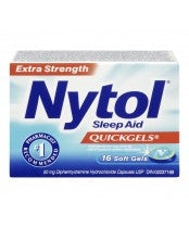 Nytol Quickgels