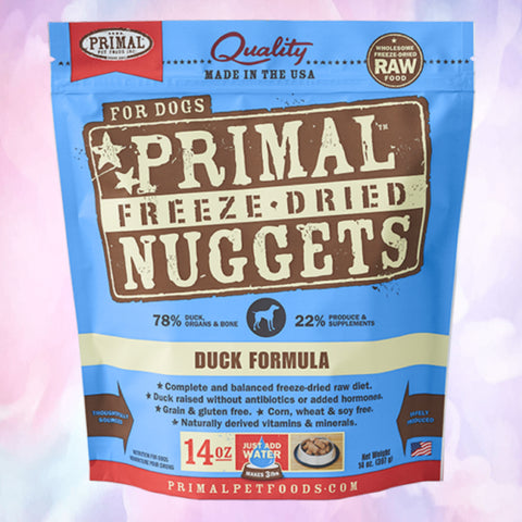 Raw Freeze Dried Canine Duck Formula