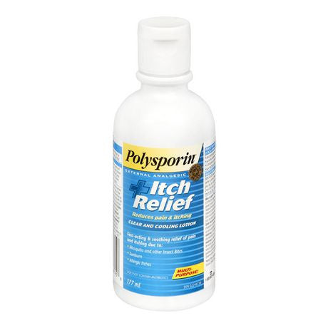 Polysporin + Itch Relief Lotion