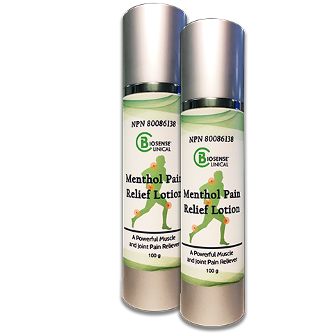 BiosenseClinical Menthol Pain Relief Lotion