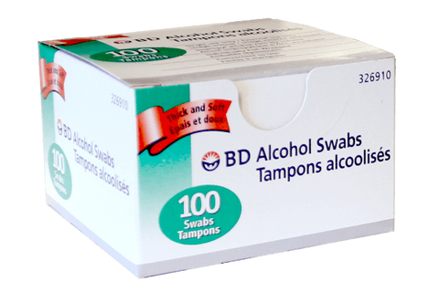 BD Alcohol Swabs - BiosenseClinic.com