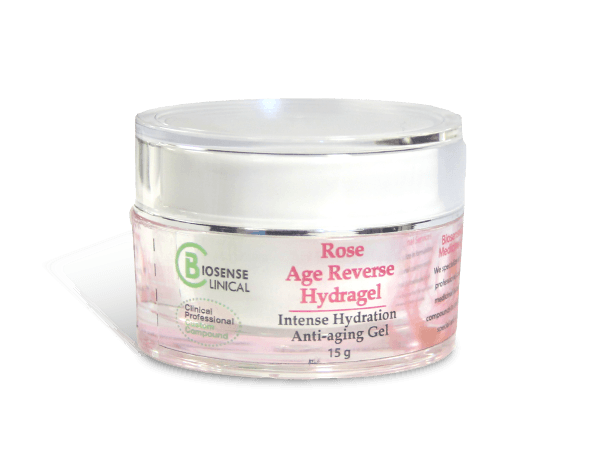 BiosenseClinical Professional Custom Compound Rose Age Reverse HydraGel 15g - BiosenseClinic.com