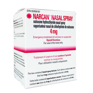 Narcan Nasal Spray 4 mg (2 units)