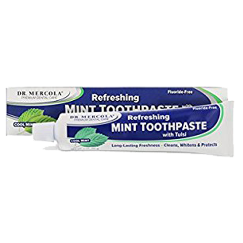 Toothpaste with Tulsi – Cool Mint
