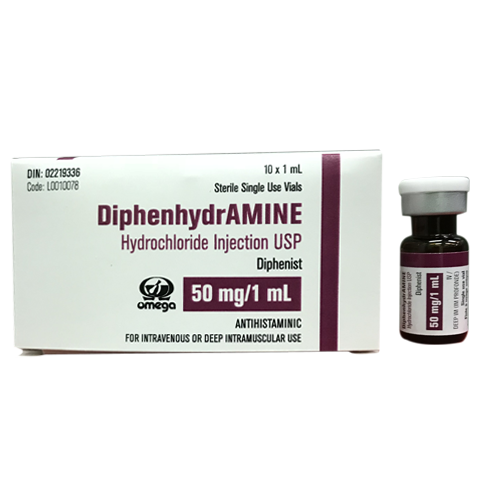 Diphenhydramine Hydrochloride Injection