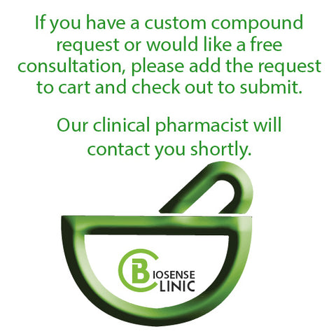 Biosense Clinic Custom Compound Request