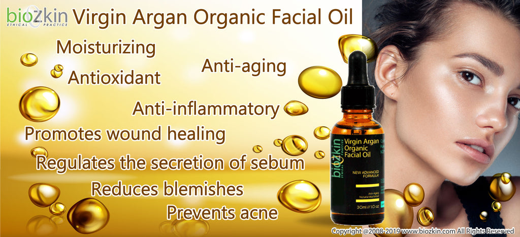 BioZkin Virgin Argan Organic Facial Oil