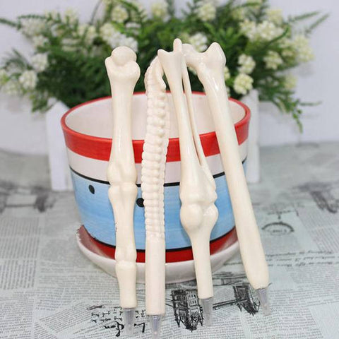 5 pcs. Bone Shape Pens - Click N' Shopp