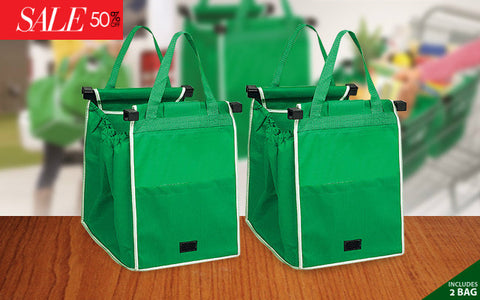 2pcs Grocery Shopping Bag
