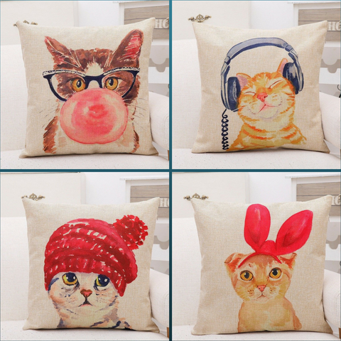 Dolly Cat Cushion Collection