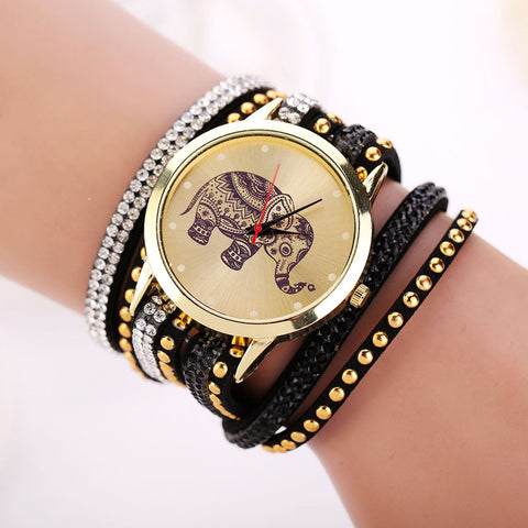 Elephant Bracelet Watch - Free Shipping - Click N' Shopp