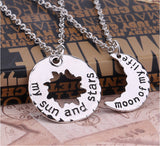 2 pcs My Sun and Stars Moon of My Life Necklaces - Click N' Shopp