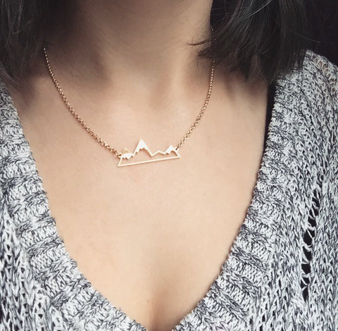 Mountain Peak Necklace ★Free Shipping★ - Click N' Shopp
