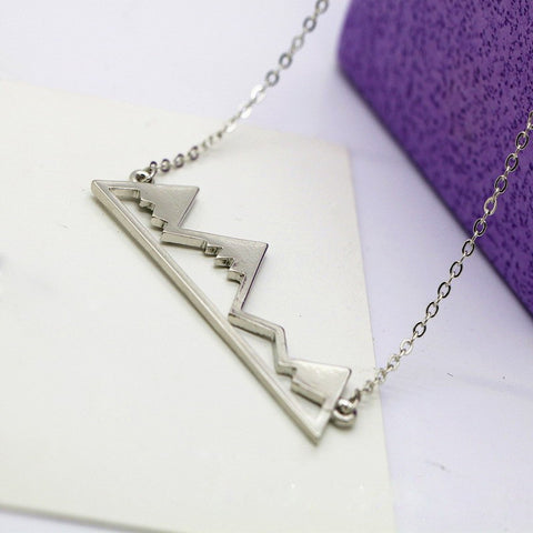 Mountain Peak Necklace - Click N' Shopp