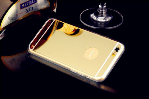 Luxury Mirror Electroplating for iPhone 6/6S and 6/6S Plus