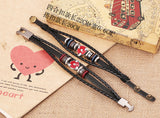 Naruto Leather Bracelet ★Free Shipping★ - Click N' Shopp