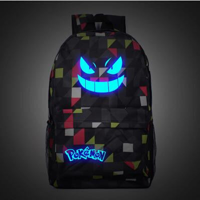 Luminous Galaxy Pokemon Gengar Backpack - Click N' Shopp