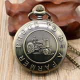 """Proud to be a Farmer"" Pocket Watch"