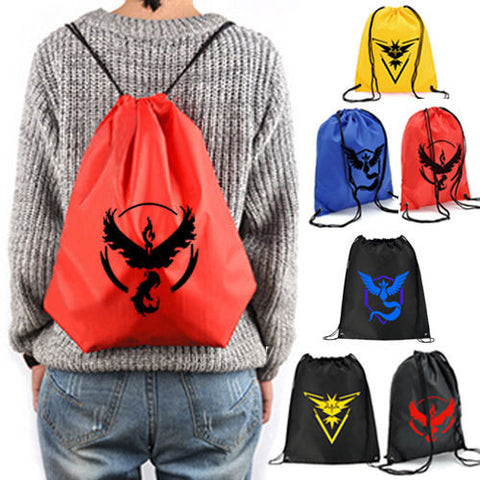 Mystic, Instinct, Valor Drawstring Sack Bag