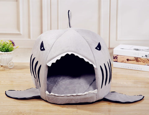 Shark Pet House with Removable Bed Cushion ★Free Shipping★