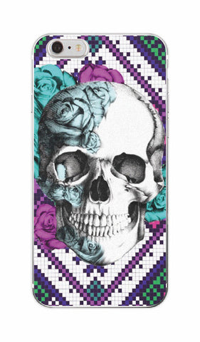 Skull Pattern TPU Phone Case For iPhone & SAMSUNG