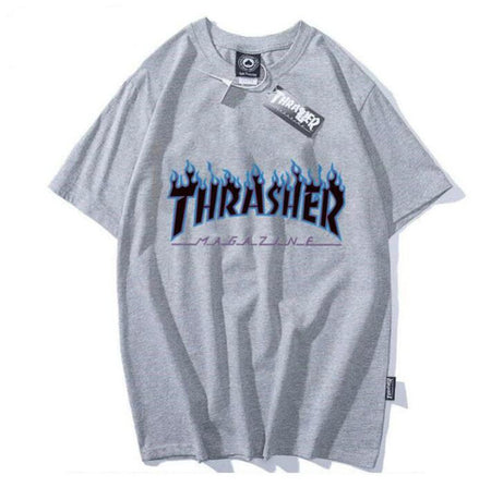 Thrasher Magazine Grey Socks