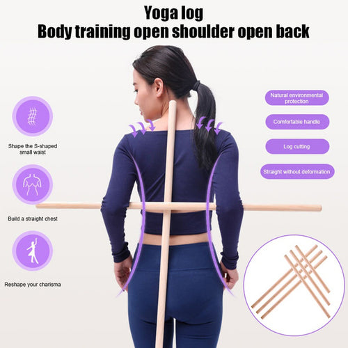 Open Shoulder Yoga Back Posture Corrector Stick