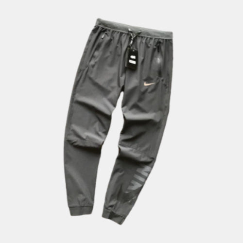 Nike Joggers Loose Fit Tapered Ankles Grey