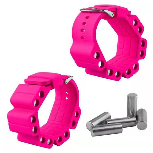 Silicone Adjustable Weight Bracelet Strap