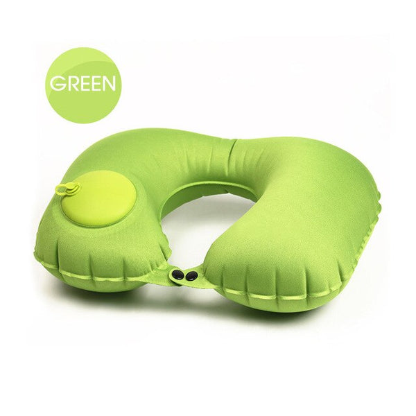Portable Air Inflatable Pillow
