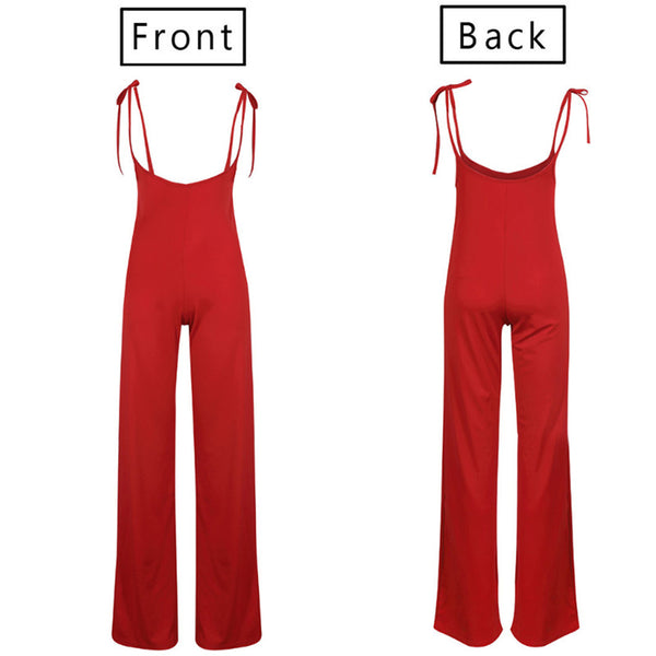 High Waist Dungarees Jumpsuits Pants Overalls Suspenders Trousers