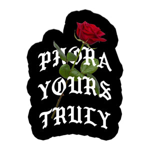 Phora Yours Truly Rose Sticker - Yours Truly Clothing