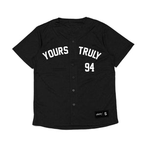 Phora 94 Blue Butterfly Jersey - Black - Yours Truly Clothing