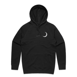 With The Stars 3M Reflective Hoodie - Black - Yours Truly Clothing