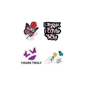 Butterflies Sticker Assorted Pack - Yours Truly Clothing