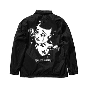 Smile Now, Cry Later Coach Jacket - Yours Truly Clothing
