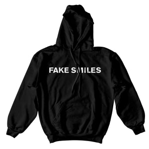 Fake Smiles Backstab Hoodie - Black - Yours Truly Clothing