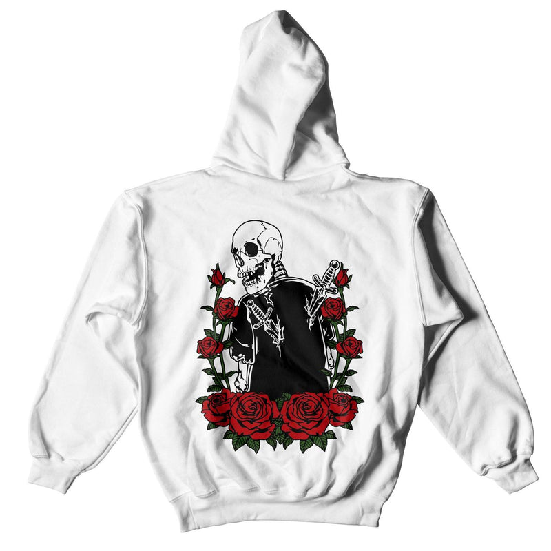FAKE SMILES BACKSTAB HOODIE - WHITE