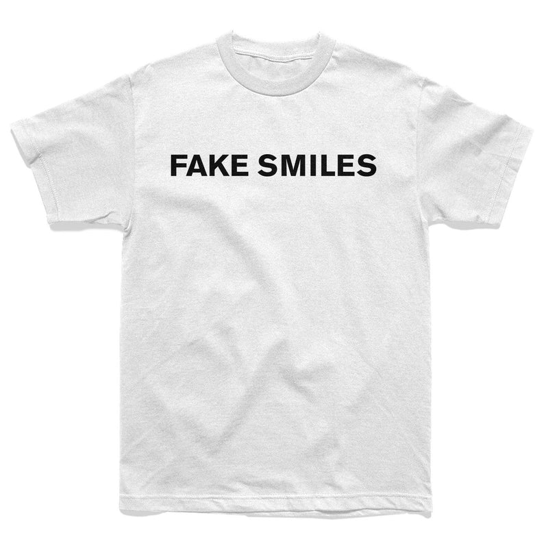FAKE SMILES BACKSTAB TEE - WHITE