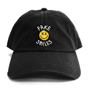 FAKE SMILES FACE DAD HAT