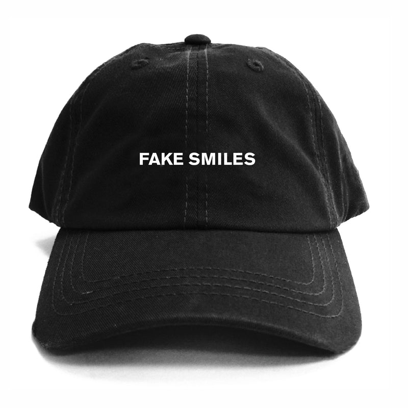 FAKE SMILES DAD HAT