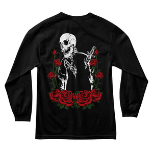 Fake Smiles Backstab Long Sleeve - Black - Yours Truly Clothing