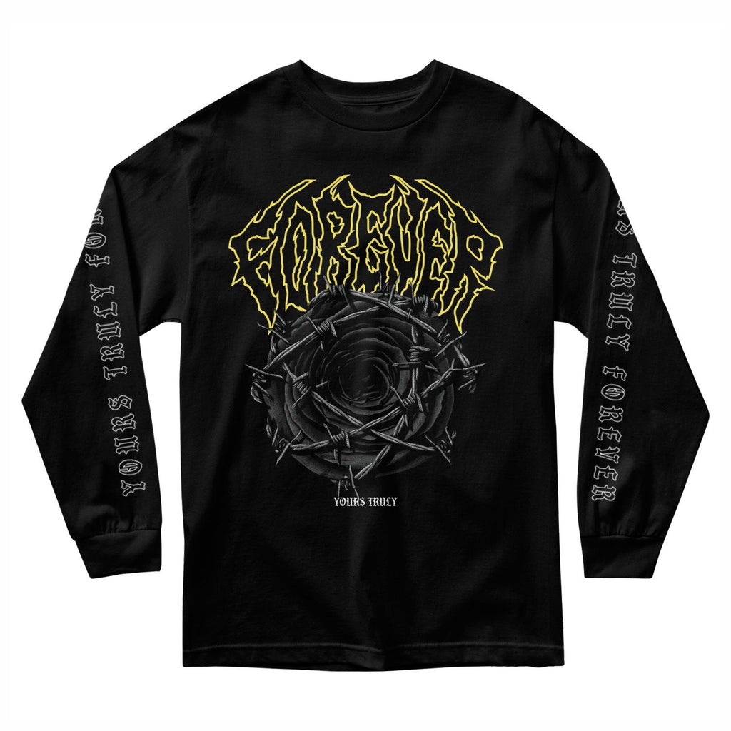 FOREVER BARBED WIRE ROSE LONG SLEEVE