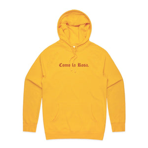 Como La Rosa Hoodie - Yellow - Yours Truly Clothing
