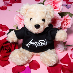 Yours Truly Teddy Bear - Black - Yours Truly Clothing