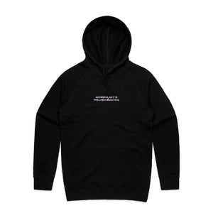 Lost Soul Hoodie - Black - Yours Truly Clothing
