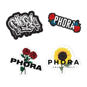 Phora Sticker Pack - Yours Truly Clothing
