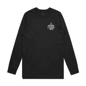 I Think I Love You La Rosa Long Sleeve - Black - Yours Truly Clothing