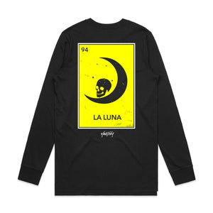 La Luna Long Sleeve - Black - Yours Truly Clothing