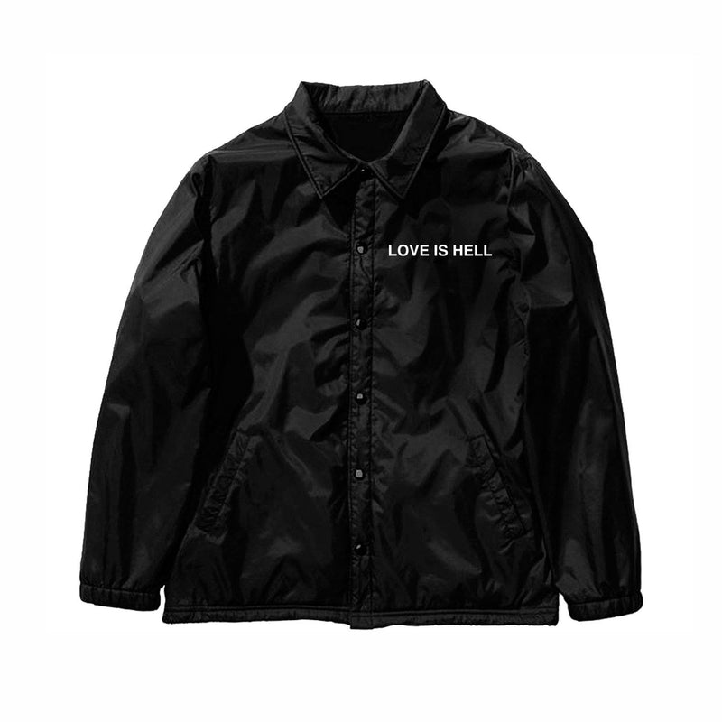 LOVE IS HELL COACH JACKET